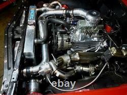CX Bolt-on FM Intercooler Piping Kit For A-Body Chevelle Nova Malibu Impala SBC