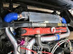 CX Bolt-on Intercooler + Piping Kit BOV For 78-83 Datsun S130 280ZX L28ET Turbo