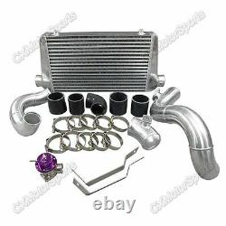 CX Bolt-on Intercooler Piping Kit For 92-98 BMW 325i 328i E36 Top Mount T3 Turbo