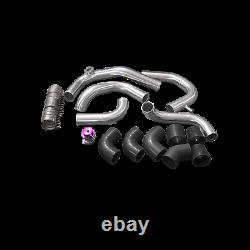 CX Bolt-on Intercooler piping kit For 240SX RB20 RB25DET S13 S14 top mount turbo