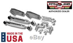 Chrome Bolt-On Front Shock Kit For 1928-1931 Model A & 1932 Ford Made In USA