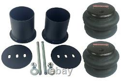 Complete Bolt On Air Ride Suspension Kit Manifold Bags Steel For 1965-70 GM Cars