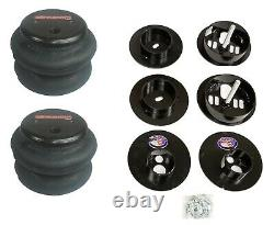Complete Bolt On Air Ride Suspension Kit withManifold & 580 Chr For 65-70 Cadillac