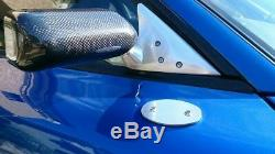 Craft Square Tca-f Carbon Rear View Side Door Racing Mirror Kit For Mazda Rx7 Fd