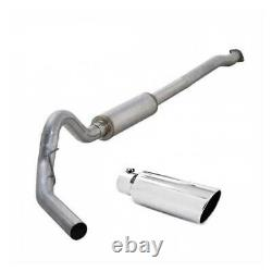 Diamond Eye 4 Cat-Back Stainless Exhaust with Tip For Ford EcoBoost 2011-2014