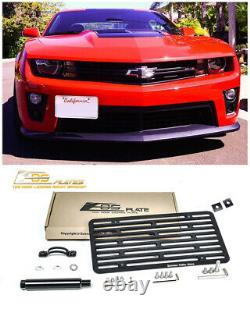 EOS For 14-15 Chevrolet Camaro SS Full Sized Front Tow Hook License Plate