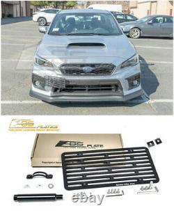 EOS For 18-Up Subaru WRX / STi Full Sized Front Tow Hook License Plate Bracket