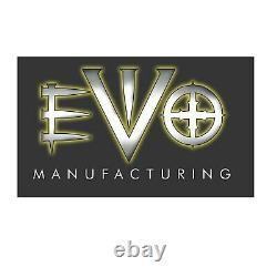 EVO MFG EVO-208B Rear Steel Fascia & Bolt-On D-Ring Kit for Jeep Wrangler JK