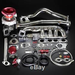 F20c F22 T04e Stage III Turbo Charger Manifold Bolt-on Kit For Ap1 Ap2 S2k S2000