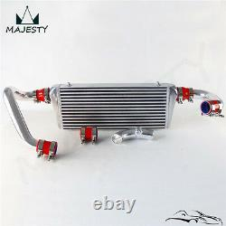 FMIC Upgrade Bolt On Front Mount Intercooler Kit For Audi A4 1.8T B5 98-01 Red