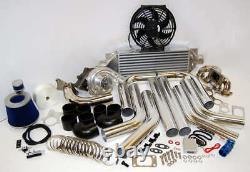 FOR 2004-2016 Yaris Vios Turbocharger Kit 1NZ-FE T3/T4 1NZFE Bolt On Horsepower