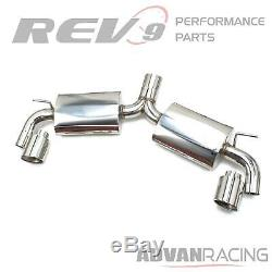 Fit for GTI MK7 15-17 2.0T Stainless Steel Cat-Back Exhaust Kit Bolt On Repla