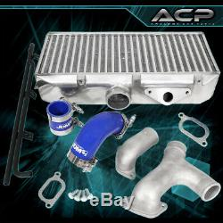 For 02-07 Subaru Impreza Wrx 2Pc Y-Pipe Top Mount Intercooler Piping Kit Jdm