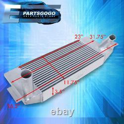 For 03-05 Neon SRT4 31.75 x 12 3.5 Front Aluminum Intercooler FMIC Bar Plate