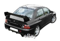 For 2002-2007 Mitsubishi Evolution EVO 8 9 Carbon Fiber Rear Trunk Spoiler Wing