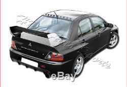 For 2002-2007 Mitsubishi Lancer EVO 7 8 9 Carbon Fiber Rear Trunk Spoiler Wing