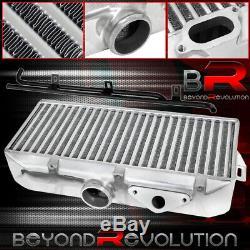 For 2002-2007 Subaru Wrx Racing Tmic Tube Fin Top Intercooler Y-Pipe Kit Blue