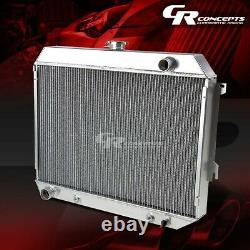For 68-73 Charger/challenger 6.3-7.2 3-row Bolt-on Aluminum Racing Radiator Kit