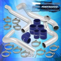 For 94-97 Honda Accord F22B 2.2L l4 Aluminum 2.5 Intercooler Bolt On Piping Kit
