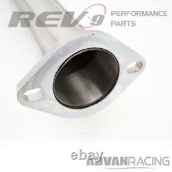 For AE86 84-87 Stainless Steel Cat-Back Exhaust Kit JDM Style Polished Bolt On