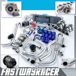 For Civic EF EG EK D15 D16 D15A D15B D16A SOHC Ram Horn T3 Turbo Kit Bolt On