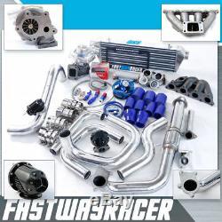For Civic SI EF EG EK D15 D16 D16A D15A D15B D16Y D15A2 T3 Turbo Kit Bolt On