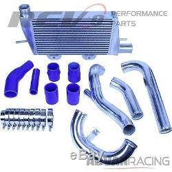 For EVO X 08-15 FMIC Front Mount Intercooler Kit Cooling Upgrade Bolt On