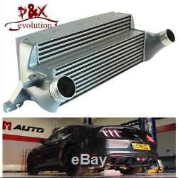 For Ford Mustang EcoBoost Direct Bolt-On 15-17 Performance Intercooler Kit 2.3L