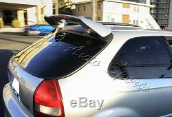 For Honda Civic 3-DR/Hatchback Black ABS Type-R Spoiler Wing WithLED Brake Light