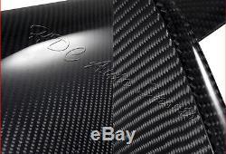 For Mitsubishi Evolution EVO 8 9 ES LS Full Carbon Fiber Rear Trunk Spoiler Wing