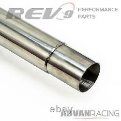 For Mustang 2.3L Ecoboost Stainless Steel Cat-Back Exhaust Kit Bolt On Rumbler
