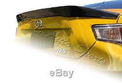 For Subaru BRZ Scion FRS FR-S Full Carbon Fiber Rear Tail Trunk Spoiler Lid Wing