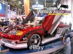 For Tiburon 02-08 Vertical Doors Inc Lambo Door Kit VDI Bolt On Best Offer