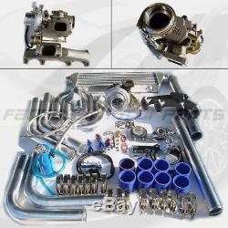 For VW 85 86 87 88 89 90 91 92 GOLF MK2 8V 2.0L Bolt On TURBO Charger KIT