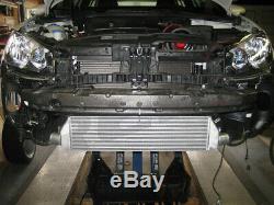 For VW GTI MK5 For 06-09 2.0T Bolt-On Upgrade Front Mount Intercooler Kit Black