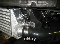 For Volkswagen GTI MK5 For 06-09 2.0T Bolt-On Front Mount Intercooler Kit Black