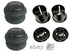 Front Air Ride Suspension Kit with2600 Air Bags & Mounting Cups For 65-70 Cadillac