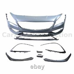 Front Bumper Cover LCI CLA45 Style For Mercedes Benz CLA250 2017-2019