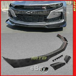 Front Lip Spoiler 1LE ZL1 Style For Camaro SS 19+ Painted Carbon Flash Metallic