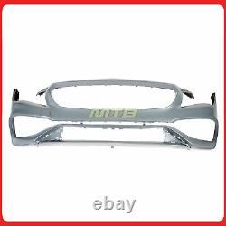 Full Conversion Front Bumper Cover LCI CLA45 Style For Mercedes CLA250 17-19
