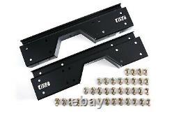 GSIMFAB 88-98 OBS Rear Frame Axle C-Notch for Lowering Chevy/GMC C1500