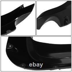 Glossy Pocket-riveted Bolt-on Wheel Cover Fender Flares Kit For 07-14 Fj Cruiser