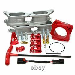 IBR Bolt-On BRZ Manifold Kit (Red) with Intake Manifold for Subaru 2015+ WRX