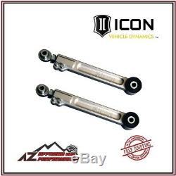 ICON Billet Aluminum Rear Upper Link Arms Kit For 03-20 Toyota 4Runner 54100