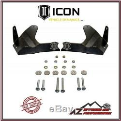ICON Front Lower Control Arm Skid Plate Kit For 10-14 Toyota FJ Cruiser 56106