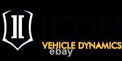 ICON Tubular Steel Delta Joint Upper Control Arm Kit For 07-14 Toyota FJ Cruiser