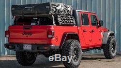 JCR Offroad 12.5 Half Bed Rack Kit for 2020 Jeep Gladiator JT Black PC