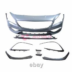 LCI CLA45 Style Front Bumper Conversion Kit For 17-19 Mercedes CLA250