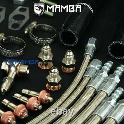 MAMBA Bolt-On Ball Bearing Twin Turbo Kit For Nissan 300ZX Z32 VG30DETT GTX2863R