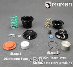 MAMBA Bolt-On GTX TURBO + BRAIDED KIT FOR Nissan TD42 Safari Patrol TD05H-16G